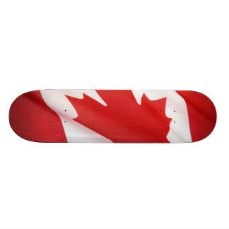 Canadian flag 19.7 cm skateboard deck