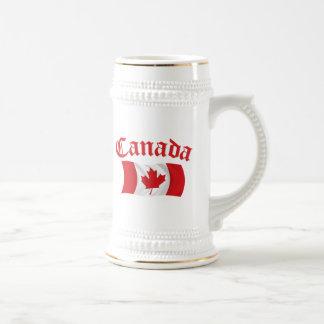 Canadian Flag Beer Steins