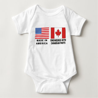 Canadian T-Shirt Baby