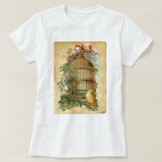 Canary Bird Cage Victorian Tshirt
