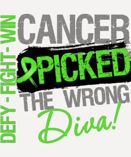 Cancer Picked The Wrong Diva Non-Hodgkins Lymphoma Tees
