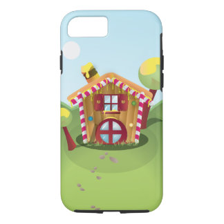 Candy House on the Hill iPhone 7 Case