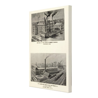 Canfield Rubber Co Gallery Wrap Canvas