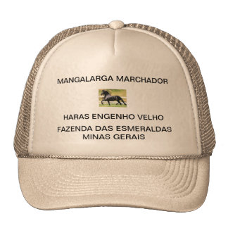 Cap with the Logomarca of the HARAS OLD DEVICE