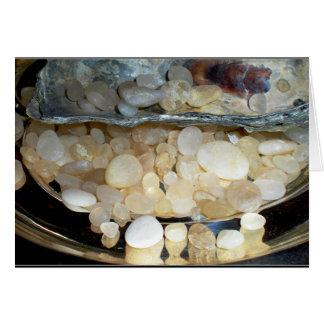 Cape May Diamonds from Cape May, NJ  Blank Card