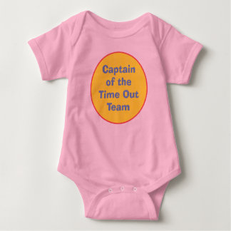 Captain of the Time Out Team T Shirt