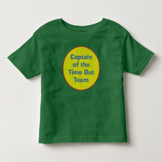 Captain of the Time Out Team Tshirts