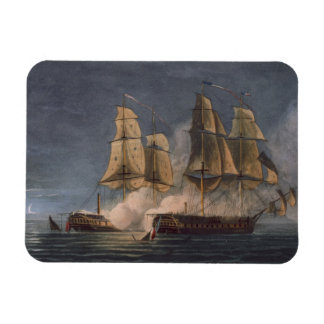Capture of the Thetis by HMS Amethyst, 10th Novemb Rectangular Photo Magnet