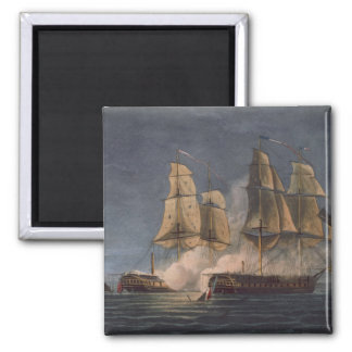 Capture of the Thetis by HMS Amethyst, 10th Novemb Square Magnet
