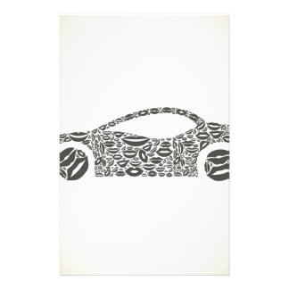 Car a lip personalised stationery