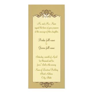 Caramel Fancy Invitation