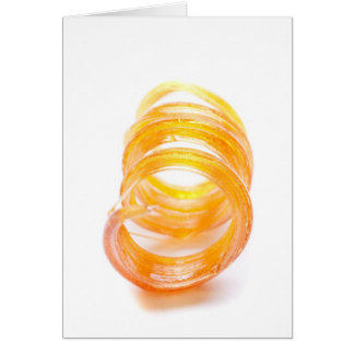 Caramel Swirl Greeting Card