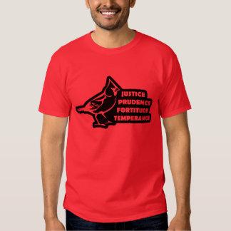 Cardinal Virtues Tee Shirt
