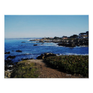 Carmel By The Sea Poster