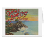Carmel, Monterey, & Pacific Grove, CA - Welcomes Greeting Card