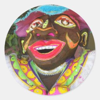 Carnival! Round Sticker