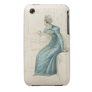 Carriage dress, fashion plate from Ackermann's Rep iPhone 3 Covers