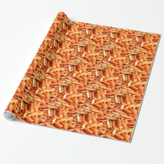 Carrots Wrapping Paper