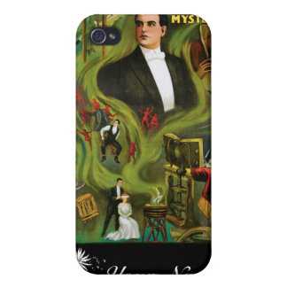 Carter The Mysterious ~ Vintage Magic Act Cover For iPhone 4