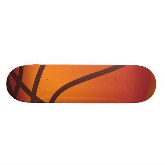 Cartoon Basketball Skate Deck