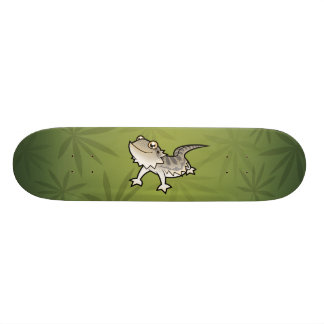 Cartoon Bearded Dragon / Rankin Dragon 20 Cm Skateboard Deck