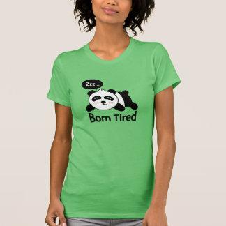 Cartoon of Cute Sleeping Panda Tee Shirt