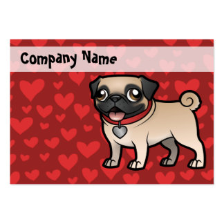 Cartoonize My Pet Pack Of Chubby Business Cards
