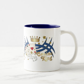 Casino King Two-Tone Mug