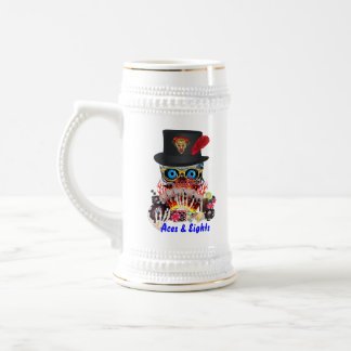 Casino Party Any Event Aces and Eights View Notes Beer Steins
