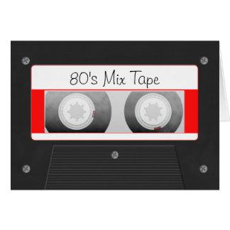 Cassette Tape Note Card