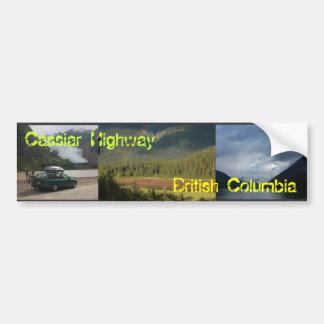 cassiar2, cassiar3, cassiar, Cassiar Highway, B... Bumper Sticker