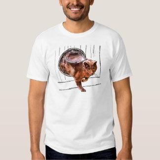 cat door t shirt