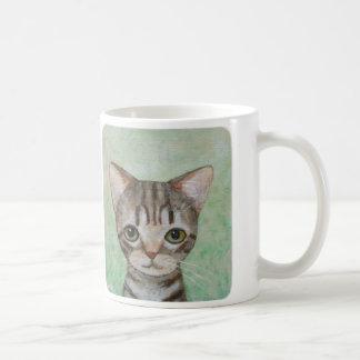 Cat Mug Cute Tabby Cat Kitten Mug Crazy Cat Lady