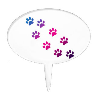 Cat Paws Cake Toppers