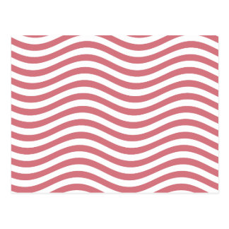 CATCH THE WAVE - CORAL PINK ~ ~ POSTCARD