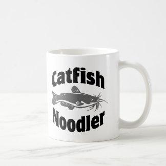 Catfish Noodler Basic White Mug