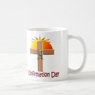 Catholic Confirmation Day for Kids Basic White Mug