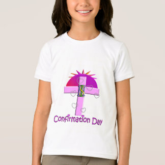 Catholic Confirmation Day Gifts for Kids Tshirt
