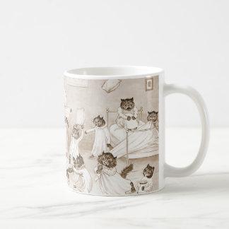 Cathouse Dormitory 1906 Basic White Mug
