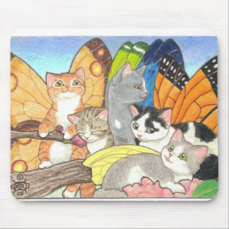 Catterfly Gathering Mouse Pad