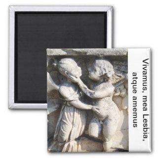 Catullus 5 square magnet