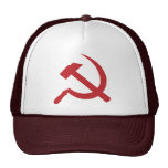 cccp ussr hammer and sickle cap