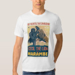 Cecil The Lion VS Harambe The Gorilla Movie T Shirt