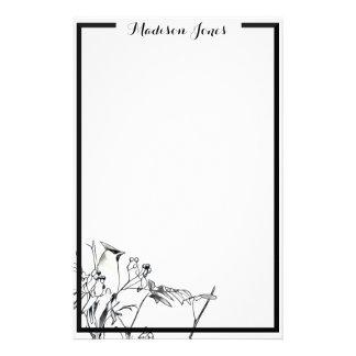 Cedar Waxwing Stationery Paper