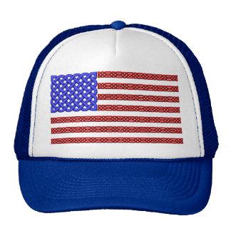 Celtic knot flag hat
