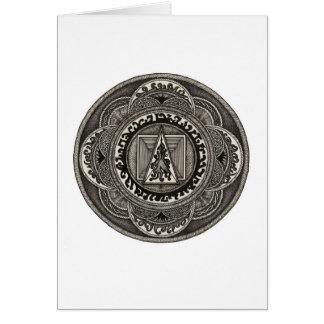 Celtic Mandala Notecard Note Card