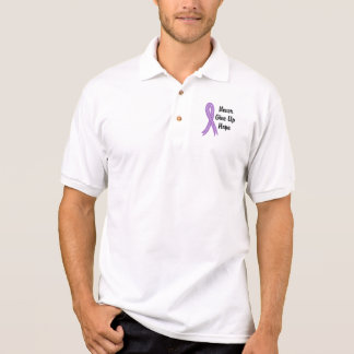 Celtic Never Give Up Hope Alzheimer's Disease Polo Shirts