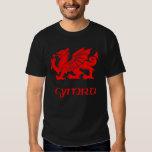 Celtic Wales Welsh Cymru Dragon Shirt