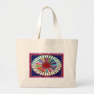 CHAKRA Light Source Meditation Jumbo Tote Bag