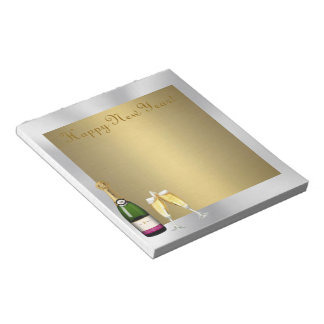 Champagne Toast 1 Notepads